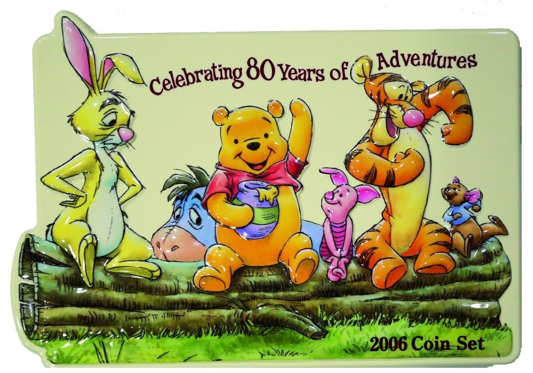 Japan Mint Set, The 80th Anniversary  of Winnie The - 3