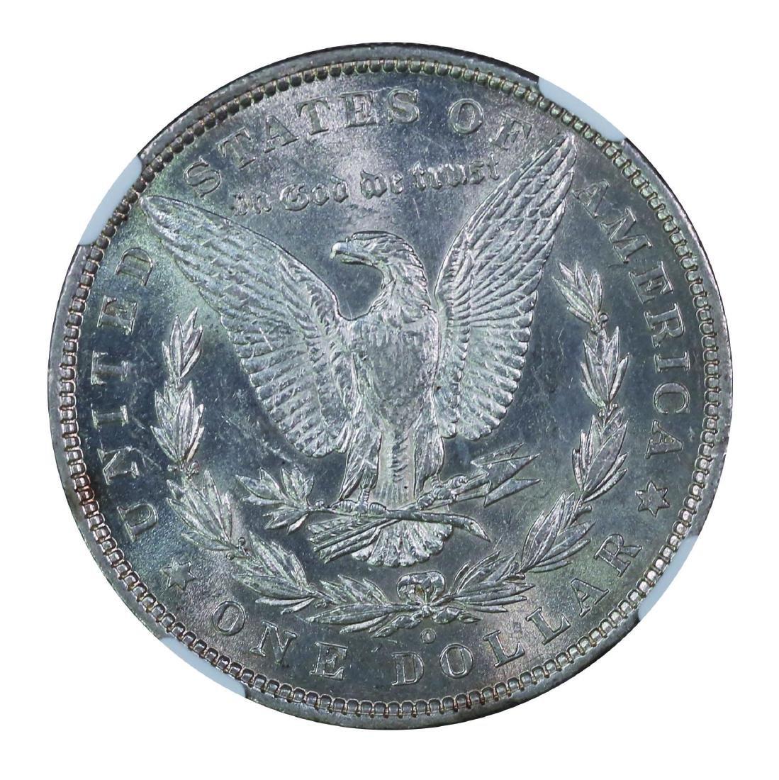 USA 1880 O, $1 NGC AU58 - 2