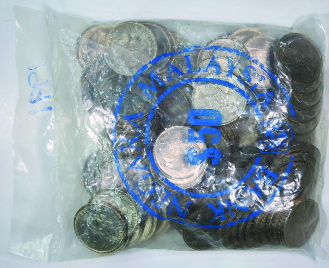 Malaysia 1991, 50 Cents (100pcs) UNC