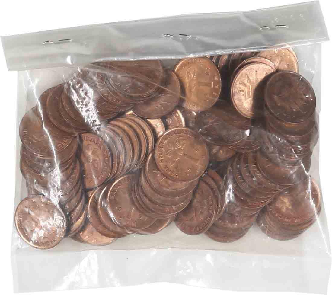 Malaysia 1997, 1 Cent. AU-UNC toned (100pcs)