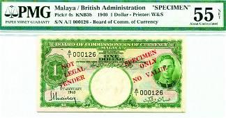 Malaya 1940 1Dollar