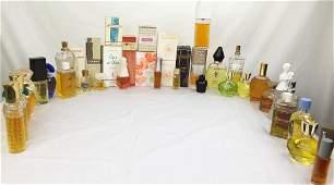 Large Lot of Vintage Womens Perfume