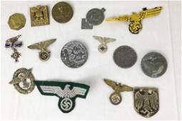 Lot of Third Reich Armband Badges Medals