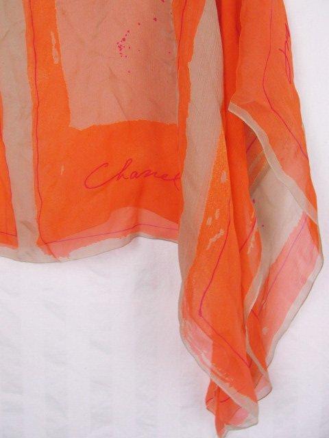 Chanel Silk Chiffon Capelet Cropped Jacket Bolero - 6