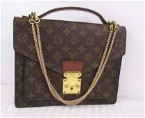 Louis Vuitton Monceau Kelly Bag