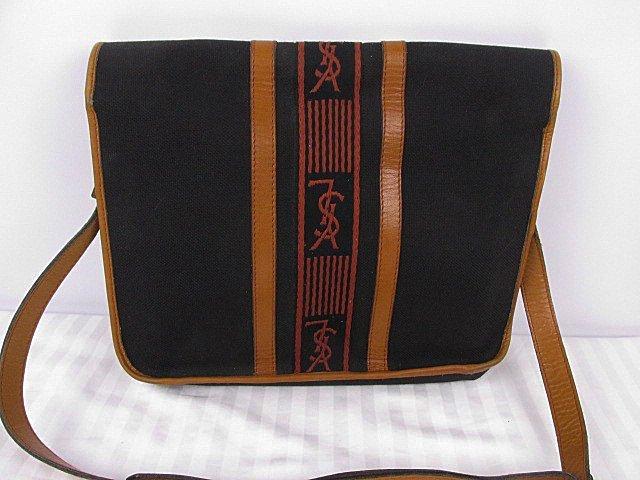 Yves Saint Laurent Crossbody Messenger Bag YSL - 3