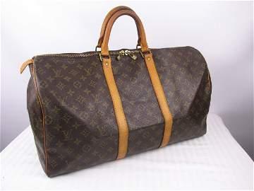 Louis Vuitton Keepall 50 Duffel Bag Weekender