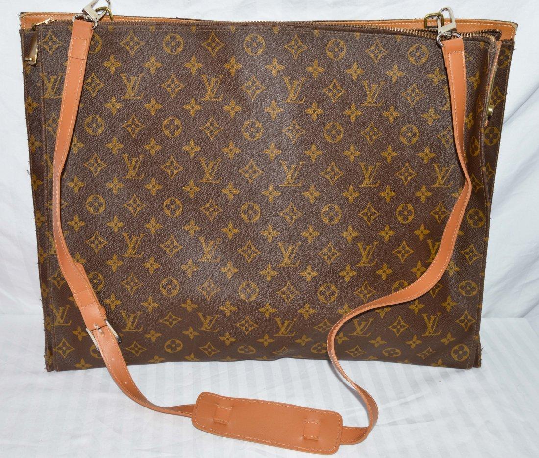 Vintage Louis Vuitton Slim Travel Bag
