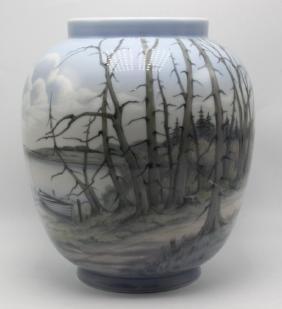 Rare Bing & Grondahl Porcelain Vase