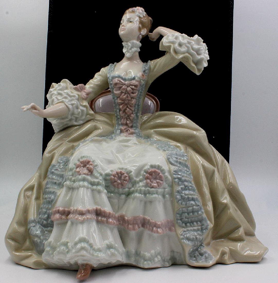 "Lladro ""Lady in Dressing Table"" Issued 1973 - 6"