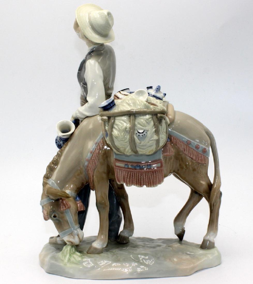 """Lladro """"Peddlar & His Donkey"""" - 2"""