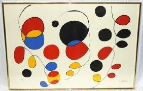 Alexander Calder (American, b.1898-1976) Lithograph