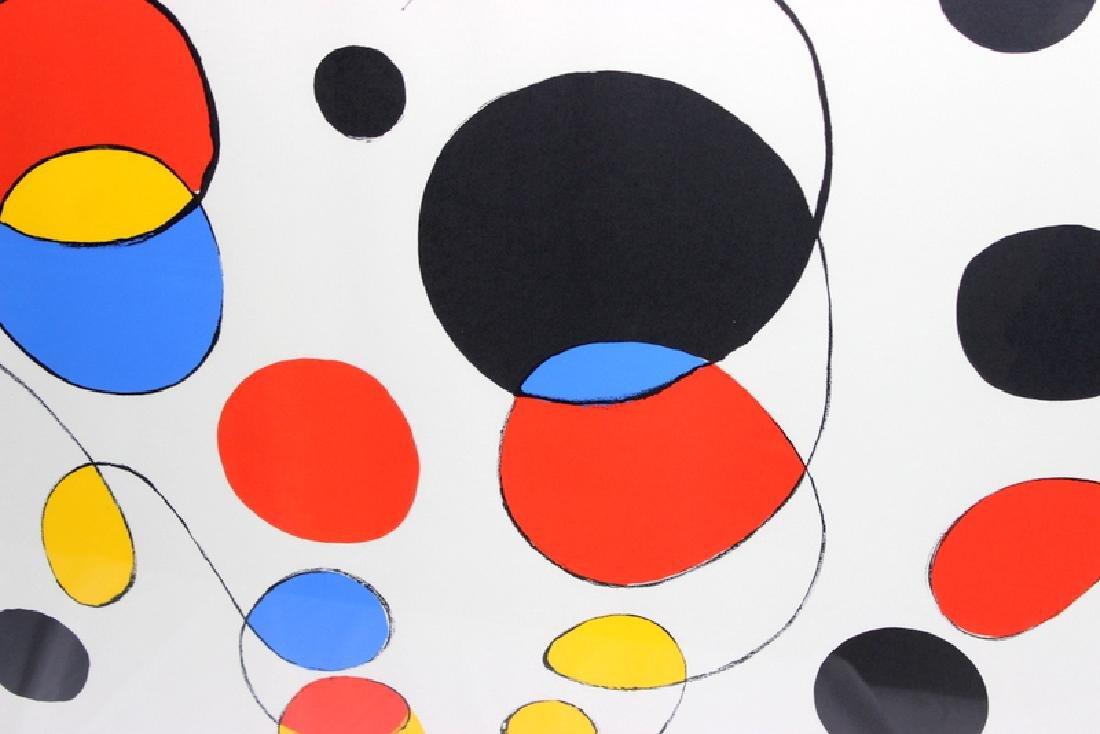 Alexander Calder (American, b.1898-1976) Lithograph - 2