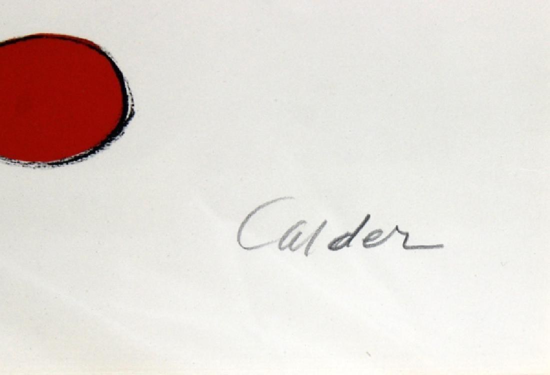 Alexander Calder (American, b.1898-1976) Lithograph - 4