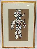 Jean Dubuffet French b19011985 Abstract Lithograph