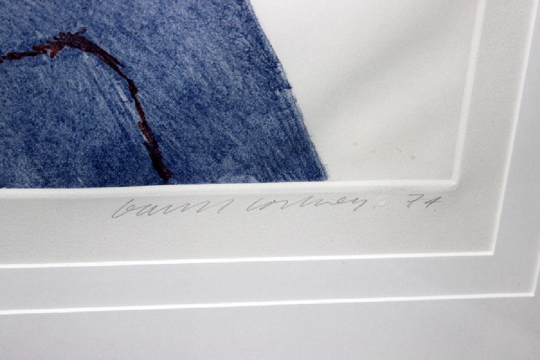 "David Hockney (English, b.1937-) ""Gregory"" Colored - 4"