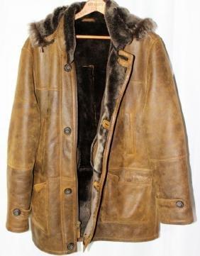 Aston Spanish Merino Shearling Coat