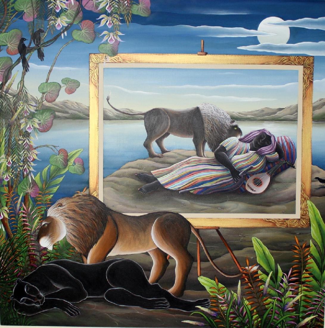 "Gustavo Novoa ""The Same Dream"" Acrylic on Canvas"