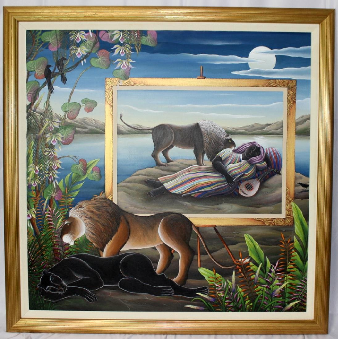 "Gustavo Novoa ""The Same Dream"" Acrylic on Canvas - 2"