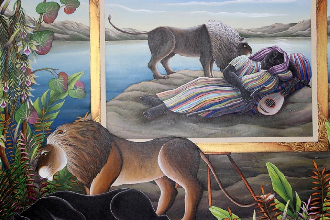 "Gustavo Novoa ""The Same Dream"" Acrylic on Canvas - 3"