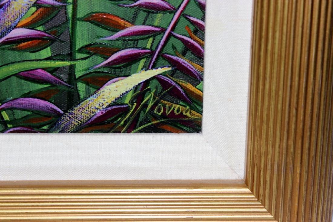 "Gustavo Novoa ""The Same Dream"" Acrylic on Canvas - 4"