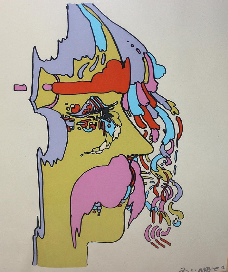 "Peter Max ""Good Loving"" Serigraph Signed & Numbered"