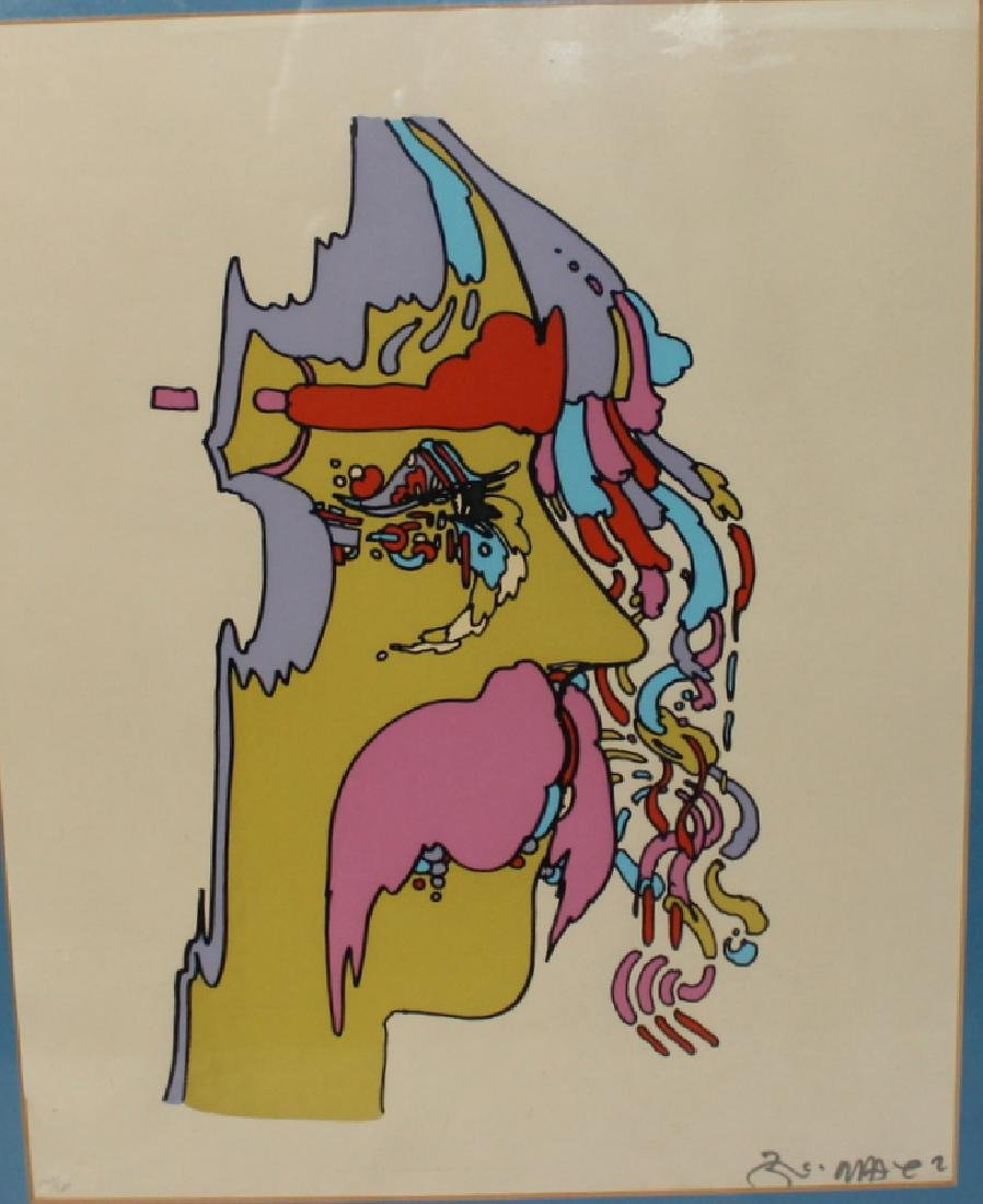 "Peter Max ""Good Loving"" Serigraph Signed & Numbered - 2"