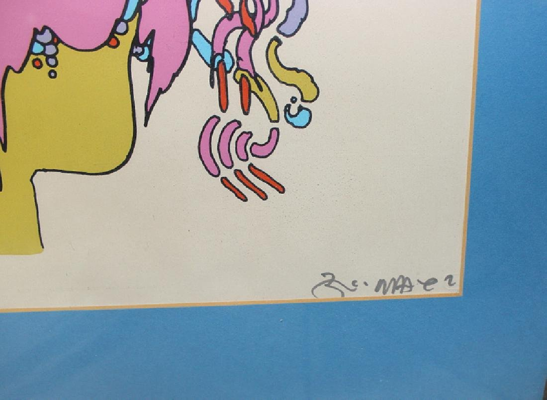 "Peter Max ""Good Loving"" Serigraph Signed & Numbered - 3"