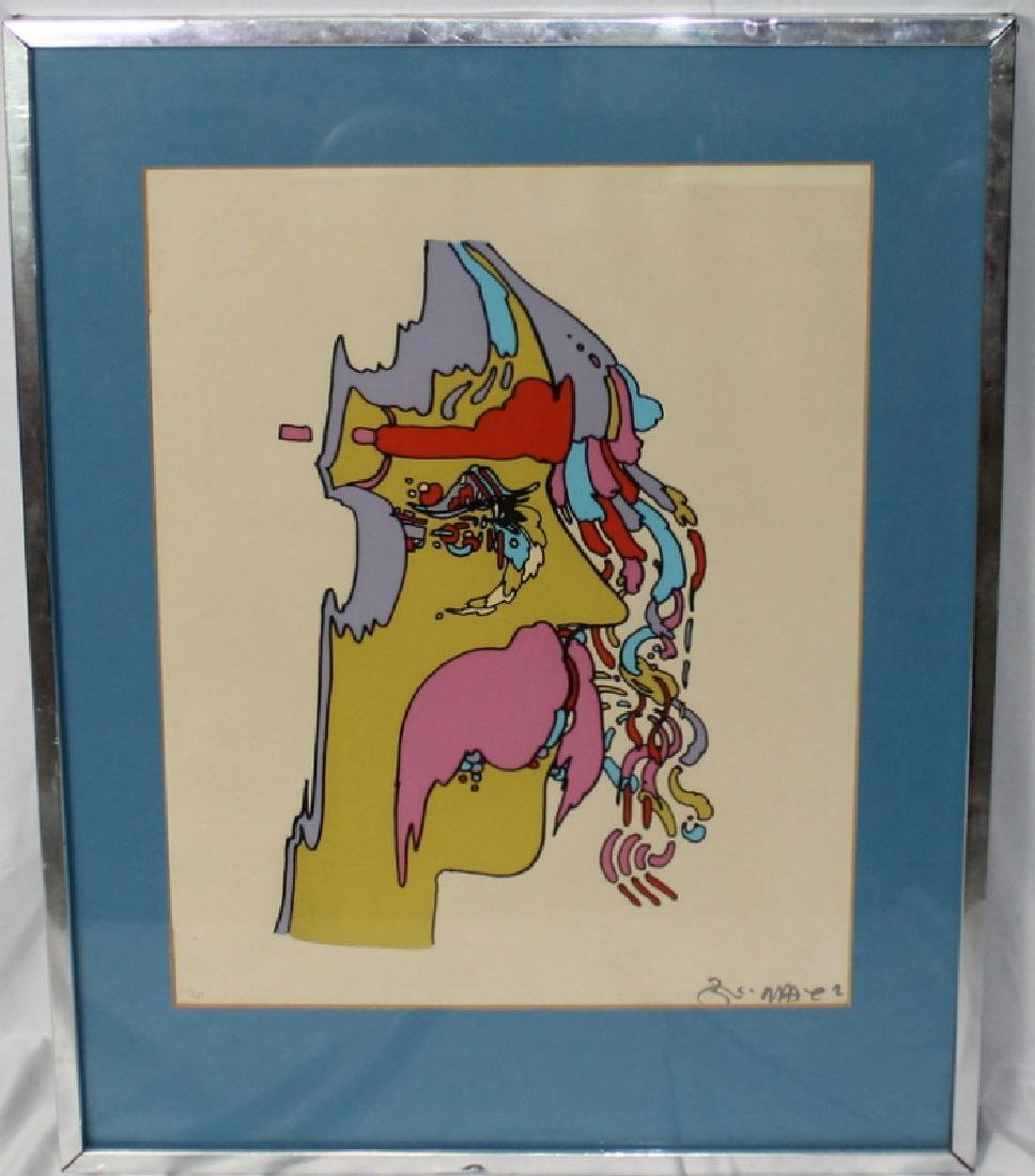 "Peter Max ""Good Loving"" Serigraph Signed & Numbered - 5"