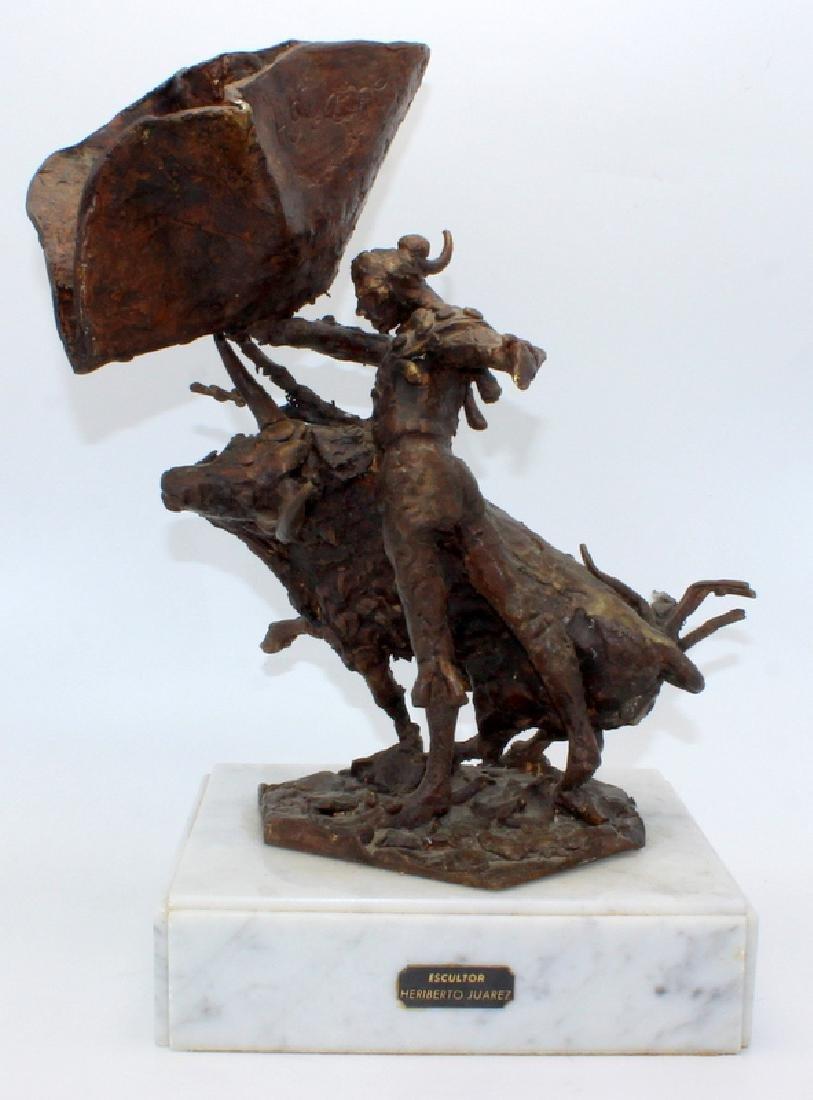 Heriberto Juarez (Mexico b.1932-2008) Bronze Sculpture