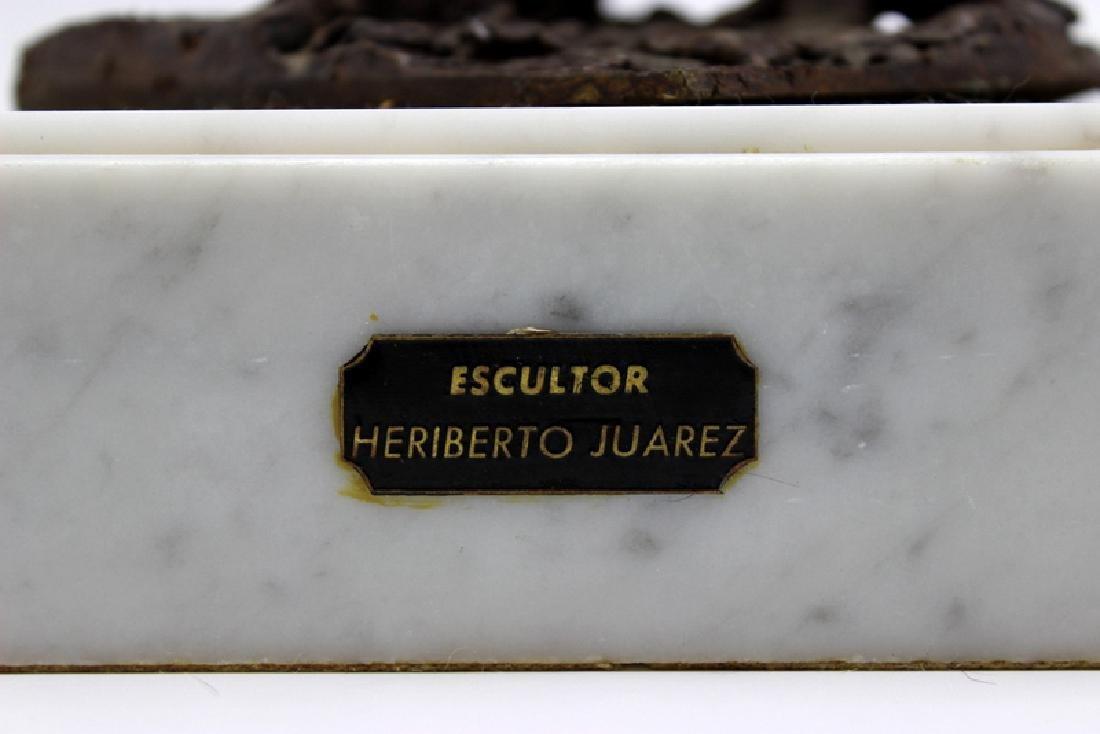 Heriberto Juarez (Mexico b.1932-2008) Bronze Sculpture - 4