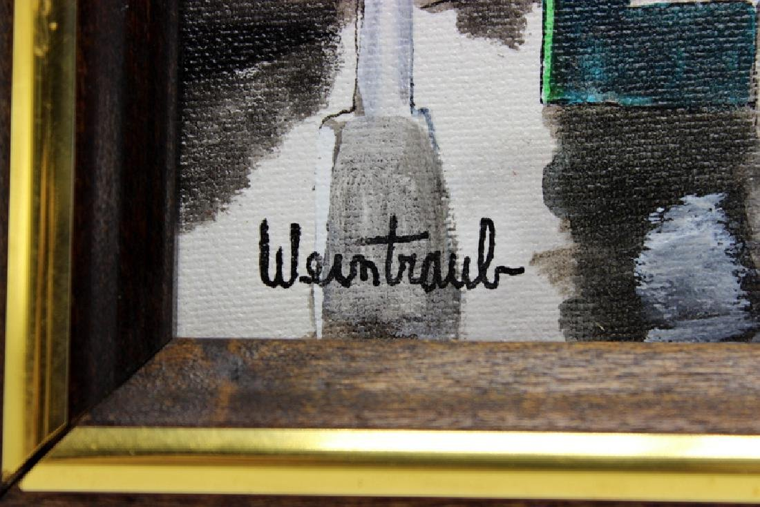 Herbert Weintraub (American, b.1931-2013) Oil on Board - 3