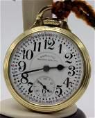 Hamilton 992B 21 Jewel Railway Special Pocket Watch