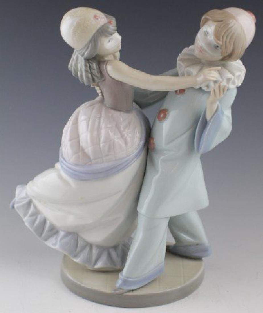 "Lladro ""Masquerade Ball"" Porcelain Figure #5452"
