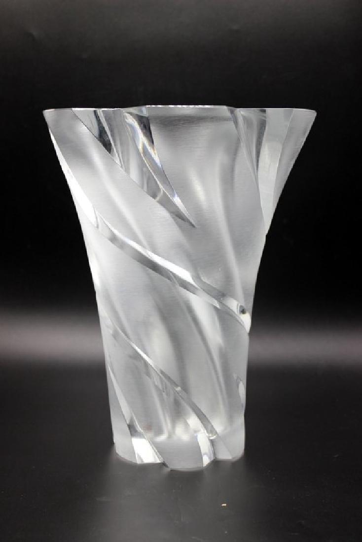 """Lalique """"Narcisse"""" Frosted Vase"""
