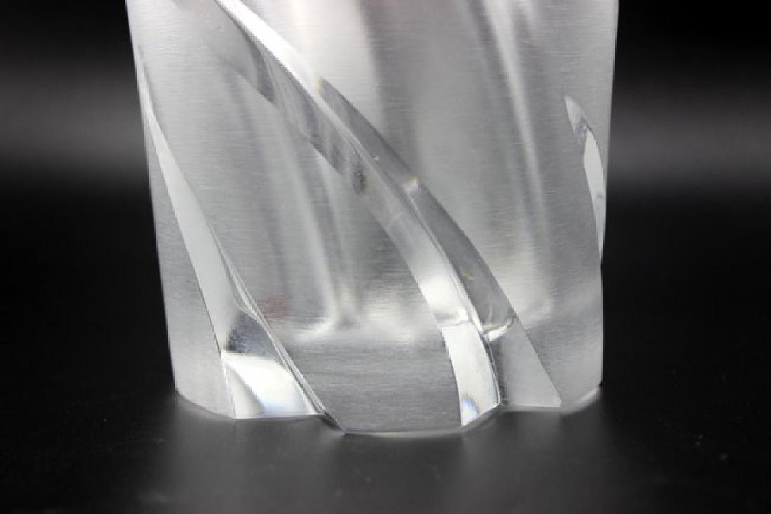 """Lalique """"Narcisse"""" Frosted Vase - 2"""