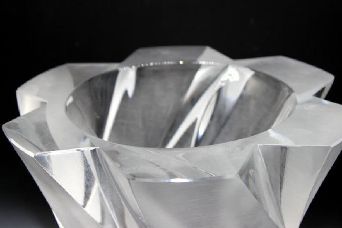 """Lalique """"Narcisse"""" Frosted Vase - 4"""
