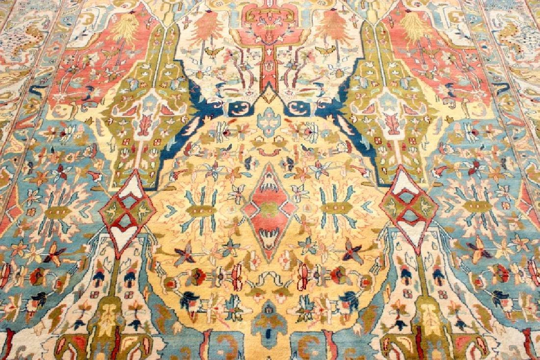 Persian Handmade 100% Wool Oriental Rug - 2