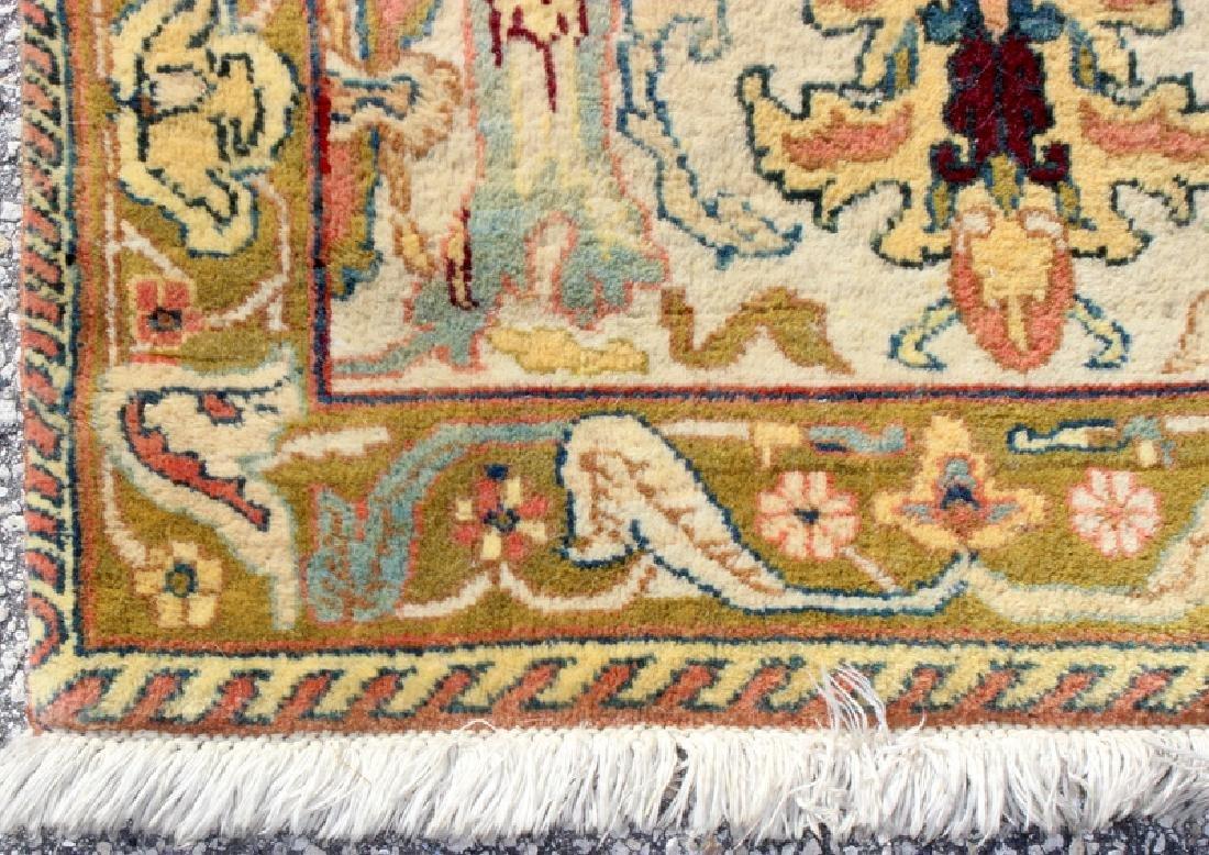Persian Handmade 100% Wool Oriental Rug - 3