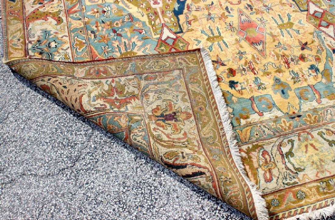 Persian Handmade 100% Wool Oriental Rug - 4