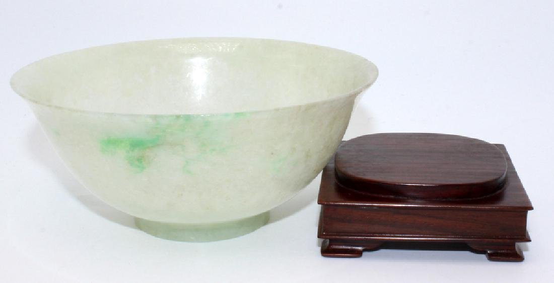 Antique Chinese Bowl & Stand - 2