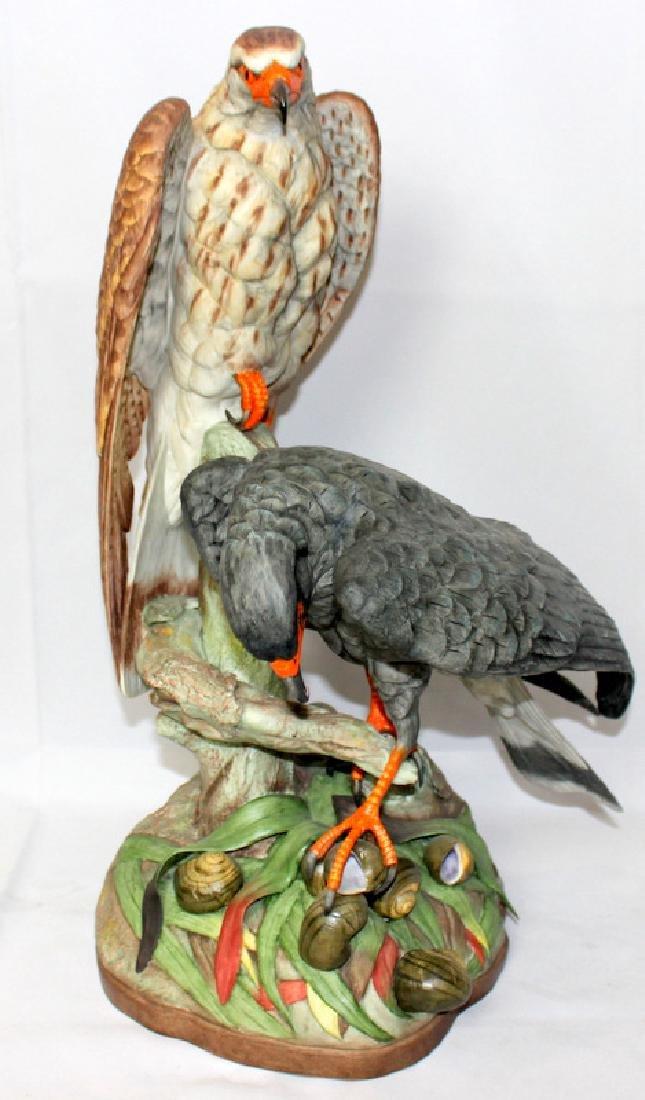 "Boehm ""Everglades Kite"" Porcelain Group"