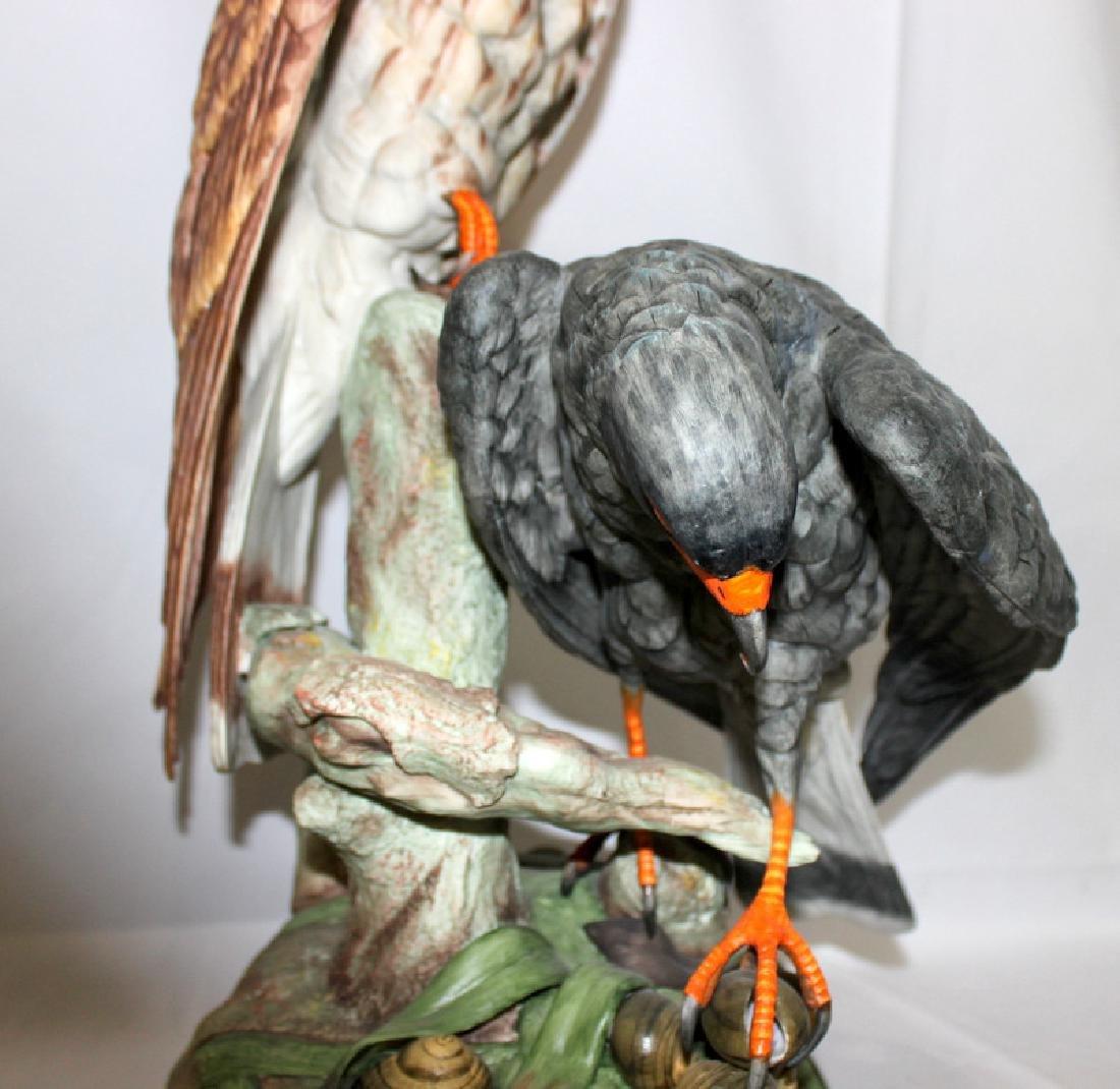 "Boehm ""Everglades Kite"" Porcelain Group - 2"