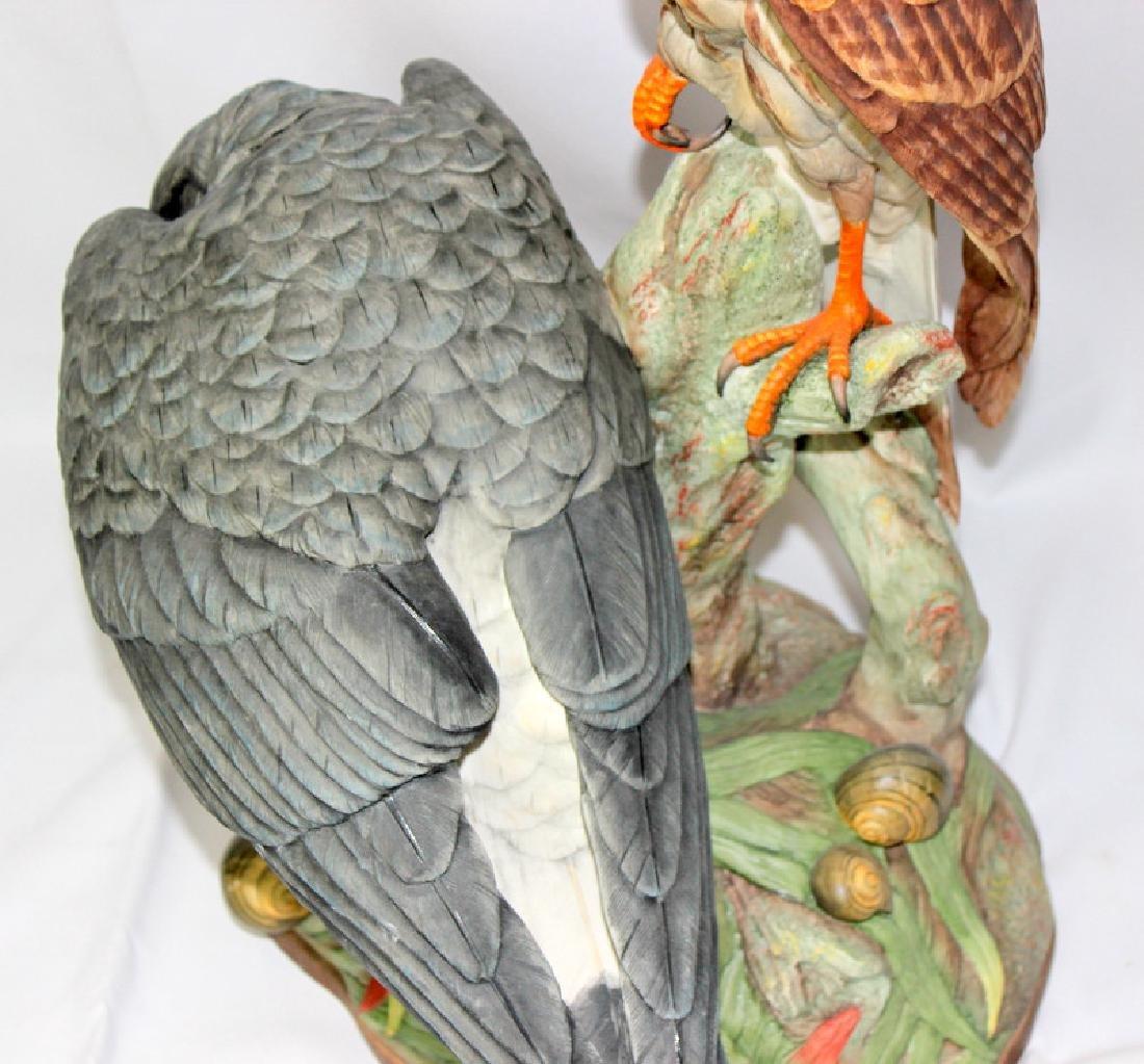 "Boehm ""Everglades Kite"" Porcelain Group - 4"