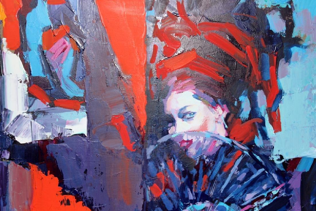 Nicola Simbari (Italian, b.1927-2012) Oil on Canvas - 3
