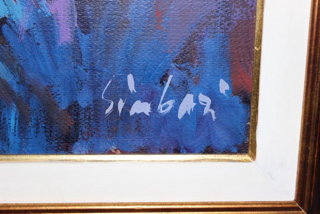 Nicola Simbari (Italian, b.1927-2012) Oil on Canvas - 4