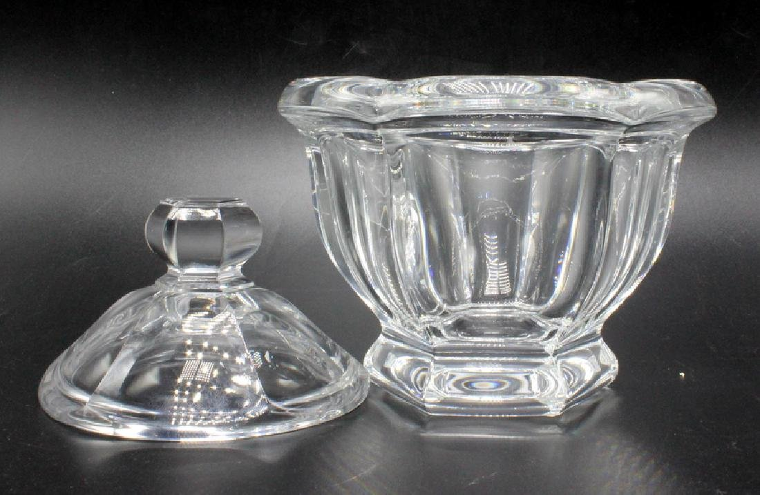 Baccarat Crystal Lidded Candy Dish - 2