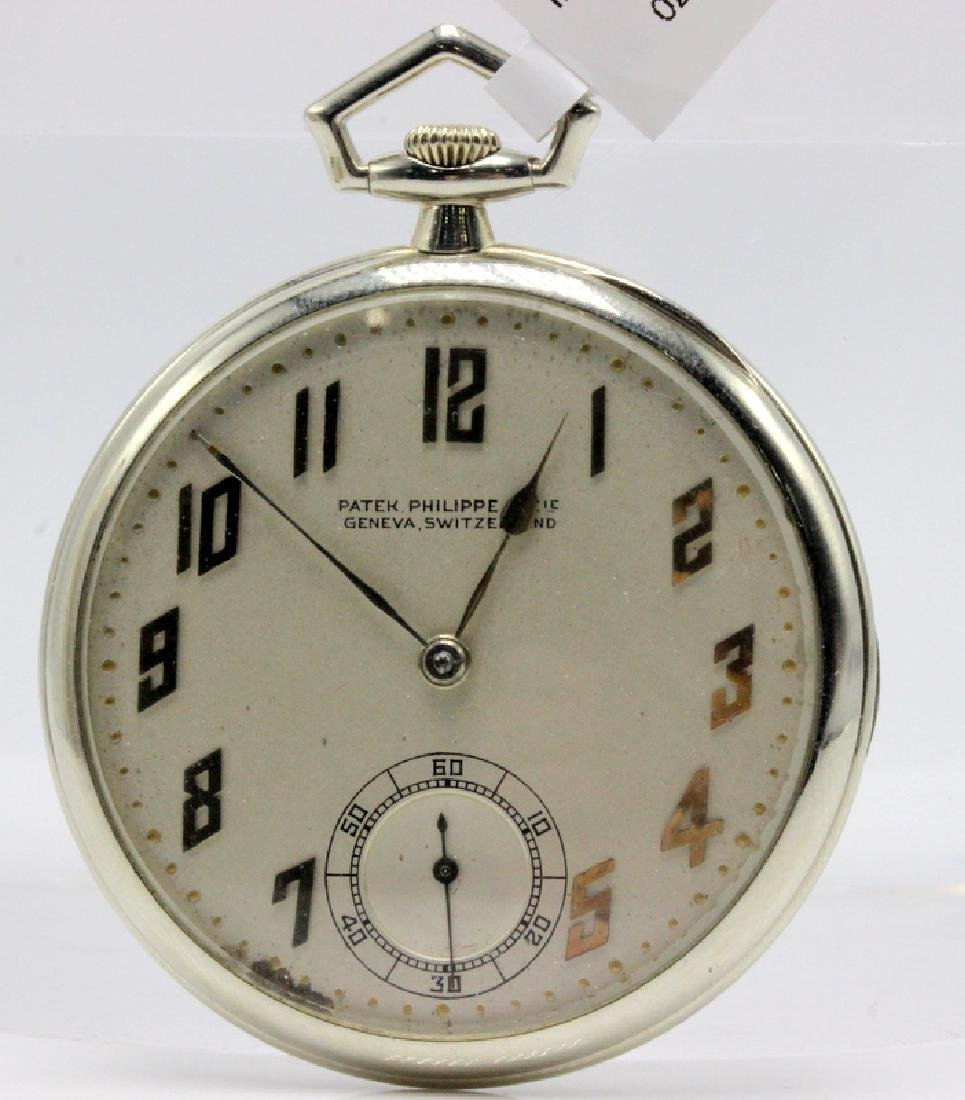 Patek Philippe made for Tiffany & Co. 18Kt WG C.1920