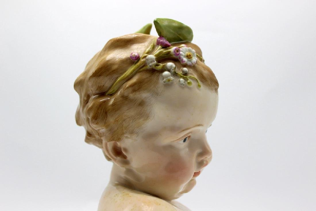 Meissen Bust of a Young Girl - 2