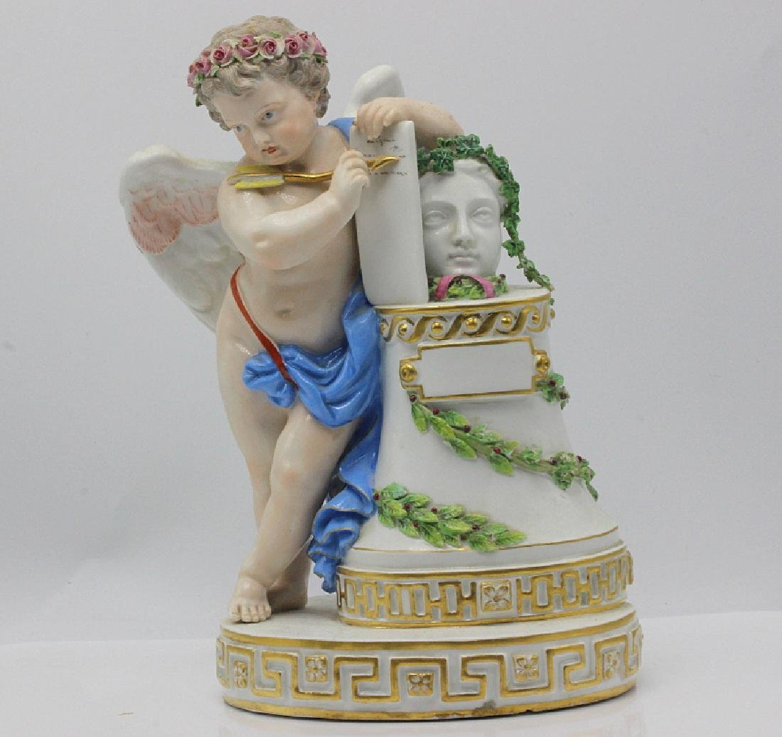 19th C. Meissen Figure of Cupid in a Classical Pose